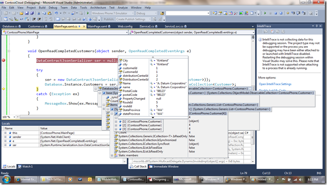 WP75 thumb Windows Phone 7 Line of Business App Dev :: Consuming an Azure WCF REST + JSON Service
