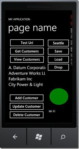 phone7 thumb Windows Phone 7 Line of Business App Dev :: Improving the In Memory Database