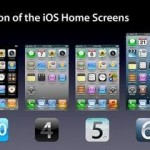 Evolution of the iPhone UI