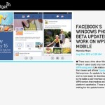 Facebook's Windows Phone beta updated to work on WP7 too Mobile