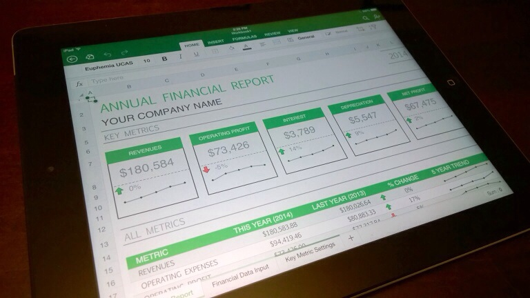 Microsoft Office is Now Available for the iPad