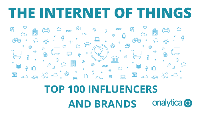 Rob Tiffany Named one of the Top Internet of Things Individuals and Brands